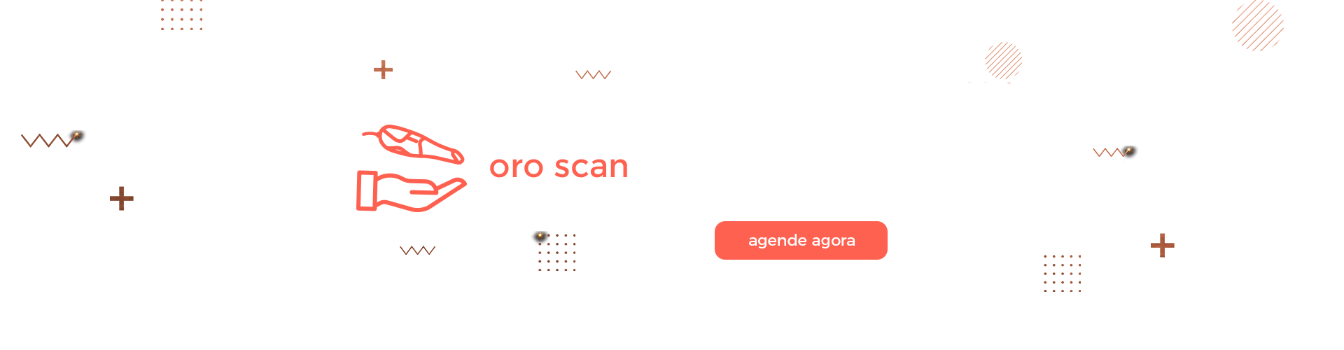 Banner Oro Scan Escaneamento Intraoral be-in